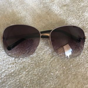 Bobbi Brown ombré and pink aviator sunglasses